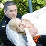 Gefilmde bruiloft van Diana en Peter