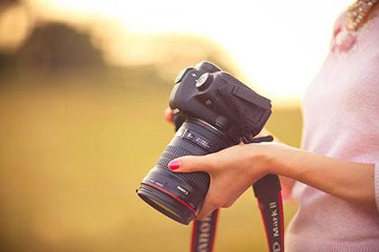 filmcamera bij filmen bruiloft