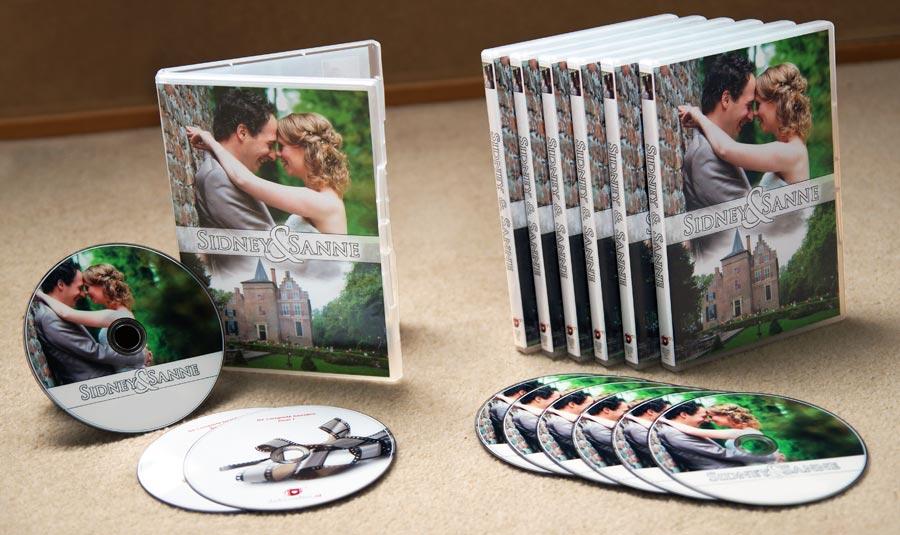 trouwfilm - filmpakket met trouwdvd's